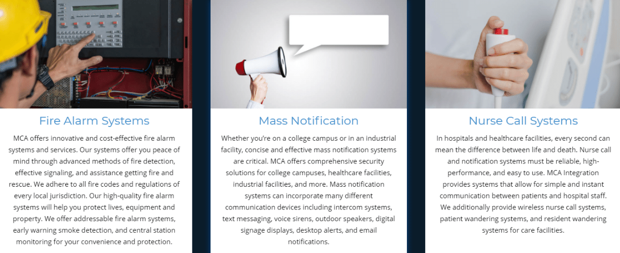 MCA Life Saving Solutions